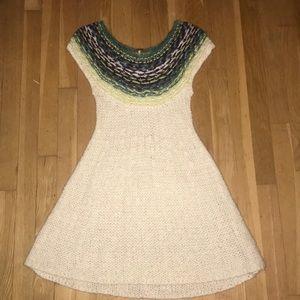 Free People Knit Sweater Dress